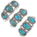 Three Stone Turquoise Bracelet 20927