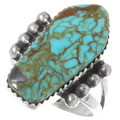 Navajo Turquoise Ladies Ring 39246