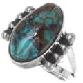 Ladies Native American Turquoise Ring 39250