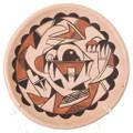 Vintage Hopi Pottery Plate 39251