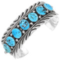 Natural Turquoise Bracelet 39254