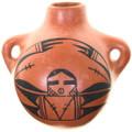 Vintage Hopi Kachina Canteen Pottery 39256