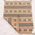 Hand Woven Natural Wool Navajo Rug Weaving 39268