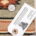 Chinle Stars Design Authentic Navajo Rug Cultural Art 39268