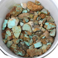 Number 8 Turquoise Rough Nuggets 37046