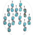 High Grade Kings Manassa Turquoise Navajo Pendants 39357