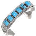 Navajo Silver Arizona Turquoise Bracelet 39376