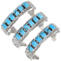 High Grade Kingman Turquoise Native American Bracelets 39376