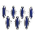 Native American Lapis Rings 39389