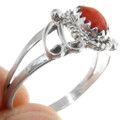 Native American Coral Ring 39392