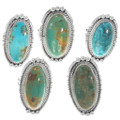 High Grade Turquoise Rings Native American Made 39395