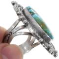 Arizona Turquoise Navajo Sterling Silver Ring 39408