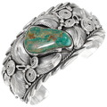 Green Royston Turquoise Cuff Bracelet 39419