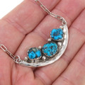 Navajo Sterling Silver Ladies Link Necklace 39427