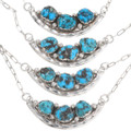 High Grade Kingman Turquoise Necklaces 39427