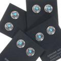 Western Concho Turquoise Earrings 39432