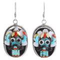 Matching Turquoise Kachina Earrings Jewelry Set 39439