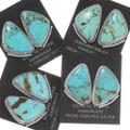 Turquoise Native American Stud Earrings 39440