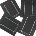 Slender Turquoise Dangle Earrings 39451