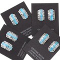 Turquoise Native American Earrings 39462
