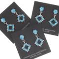 Sleeping Beauty Turquoise Earrings 39464