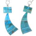 Arizona Turquoise Sterling Silver Healing Spirit Pendant 39469