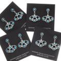 Sleeping Beauty Turquoise Earrings 39473