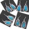 Authentic Navajo Annie Spencer Arizona Turquoise Earrings 39487