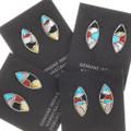 Zuni Mosaic Inlay Earrings 39504
