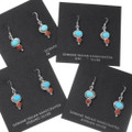 Petite Turquoise Sterling Silver Dangle Earrings 39508
