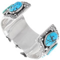 Sleeping Beauty Turquoise Sterling Silver Watch 39513