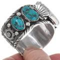 Genuine Vintage Bisbee Turquoise Turquoise Old Pawn Watch 39514