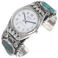 Old Pawn Bisbee Turquoise Watch Bracelet 39514