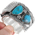 Bright Turquoise Native American Watch 39516