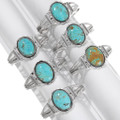 High Grade Number 8 Turquoise Native American Bracelets 39520