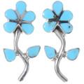 Sleeping Beauty Turquoise Earrings 39545