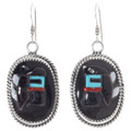 Matching Kachina Earrings Zuni Made 39536