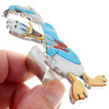 Turquoise Shell Native American Disney Ring 39538