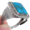 High Grade Kingman Turquoise Silver Ring 39551