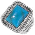 Arizona Turquoise Mens Ring 39551