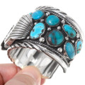 Old Pawn Style Turquoise Watch Bracelet 39563