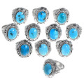 High Grade Sleeping Beauty Turquoise Rings 39565