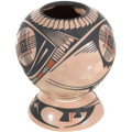 Hand Painted Pottery Southwest Geometric Designs