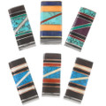 Colorful Gemstone Money Clips 39629