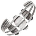 Old Pawn Onyx Sterling Silver Bracelet 39635