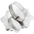 Navajo Sterling Silver Onyx Ring 39637