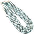 Authentic Navajo Alex Arviso Turquoise Bead Necklace 32996