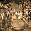Traditional Native American Drum Circle 39265