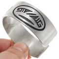 Hopi Geometric Patterns Sterling Silver Bracelet 39692