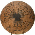 Polychrome Apache Basket Symbols Pattern 39715